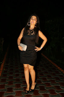 Actress Charmi Kaur Latest Pictures in Short Dress at 365 Days Audio Launch  19