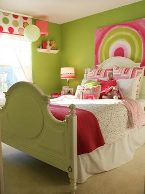 habitación colorida chica