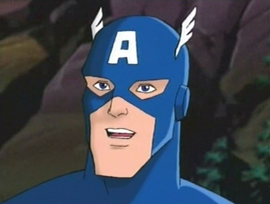 Avengers Captain America Cartoon