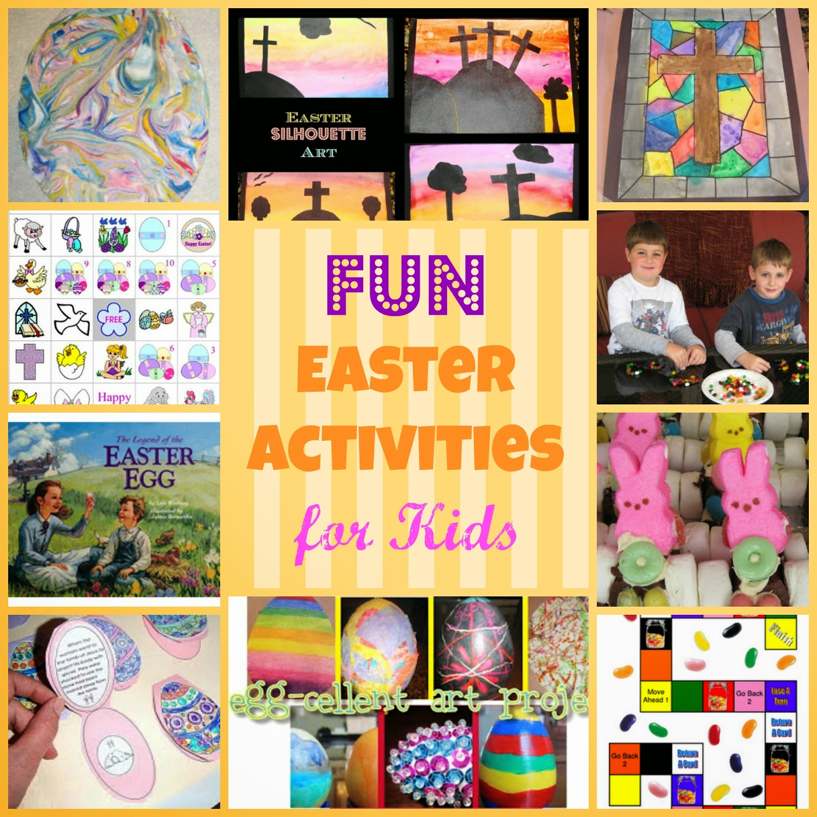 Teaching with tlc easter cross art project for Easter crafts for elementary students