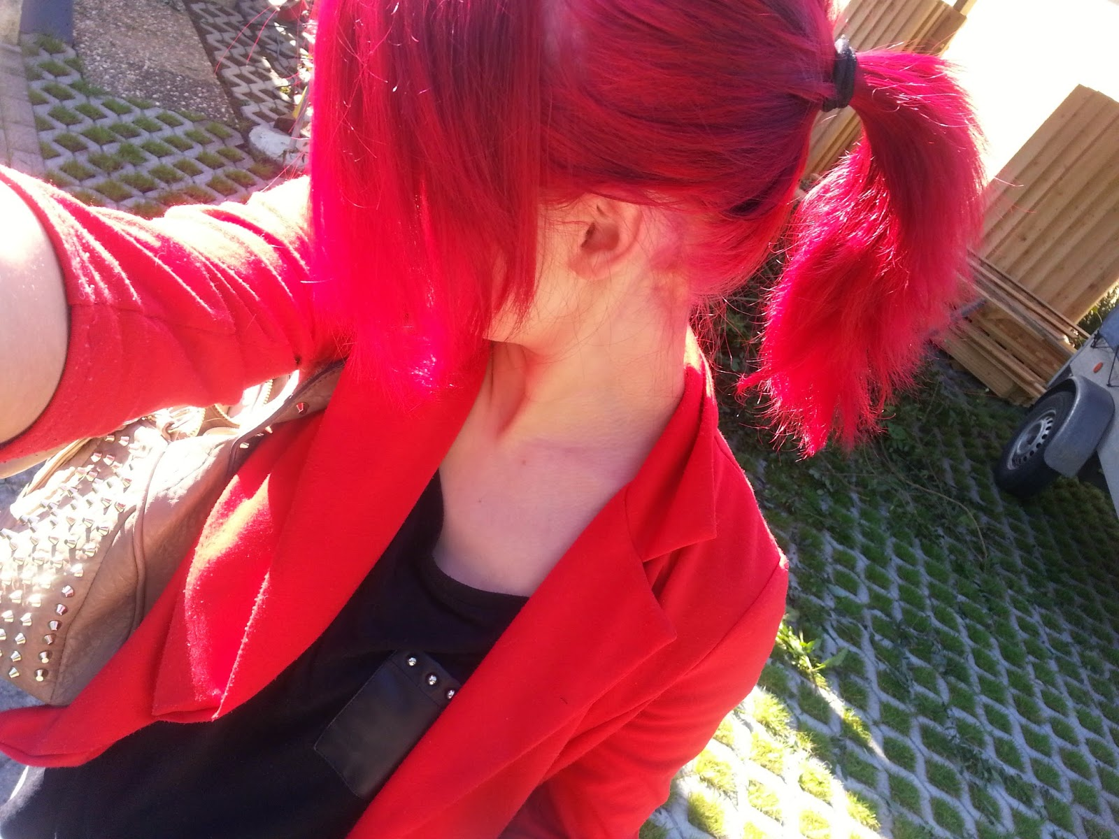haarfarbe rot knallig
