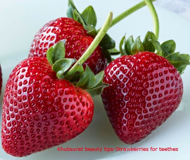 Do strawberries whiten teethes