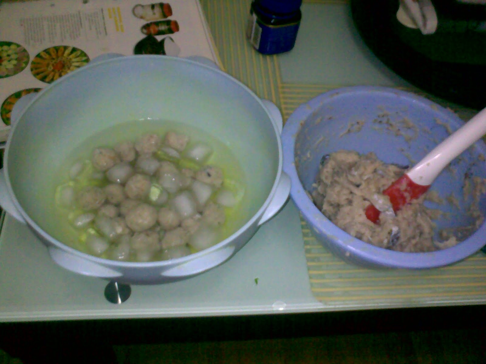 My favourite recipes my homemade fish balls for Dough balls for fishing
