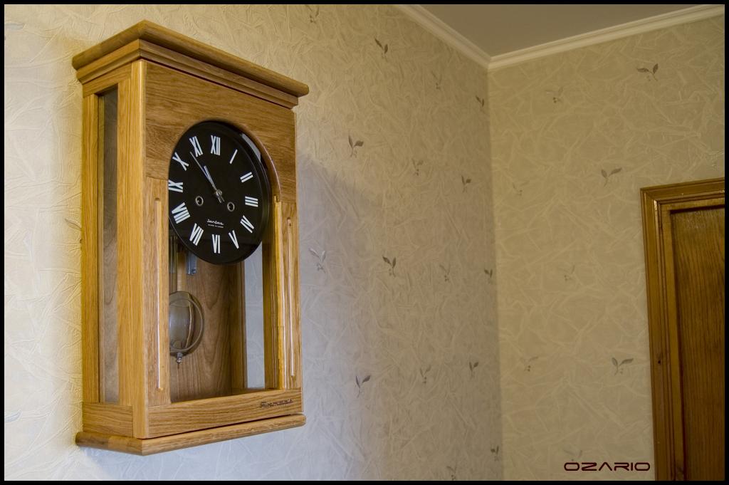 Как сделать и из чего деревянные часы