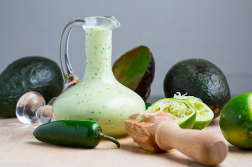 Creamy Avocado Dressing (aka Guacamole Buttermilk Dressing) on Closet ...