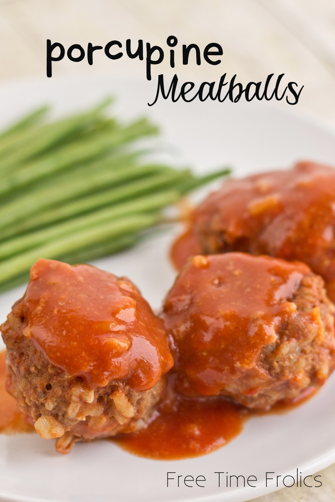 Porcupine Meatballs Freezer Meal via Free Time Frolics #maindish #recipe
