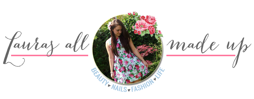 Lauras All Made Up | UK Beauty, Fashion + Lifestyle Blog