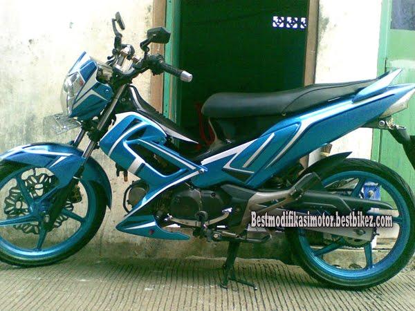 Modifikasi Honda Supra X 125 title=