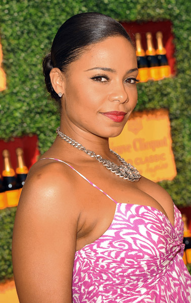 Sanaa Lathan Attended The Annual Veuve Clicquot Polo Classic In Los Angeles