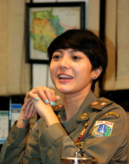 tanggapan anda tentang Foto Cantik Satpol PP Wanita Indonesia