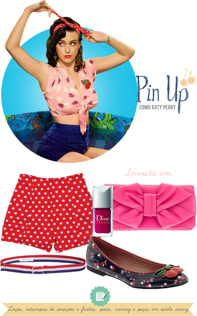 estilo katy perry pin up