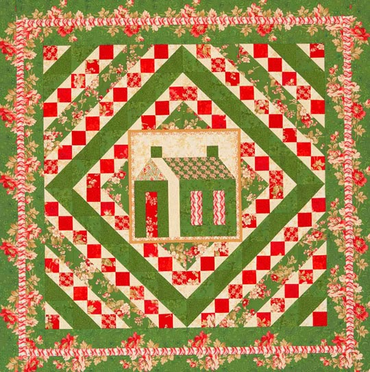 Christmas Quilt Block Patterns Free : Quilt Inspiration: Free pattern day: Christmas quilts ! (part 3)