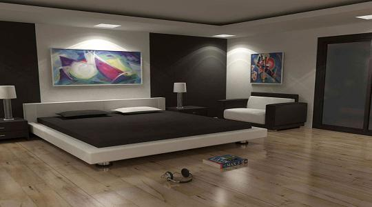 Home interior design gallery modern minimalist interior for Minimalist house gallery
