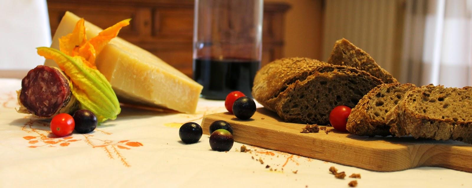 Pane ai sette cereali e sesamo