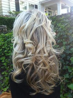 Sock Bun Curls