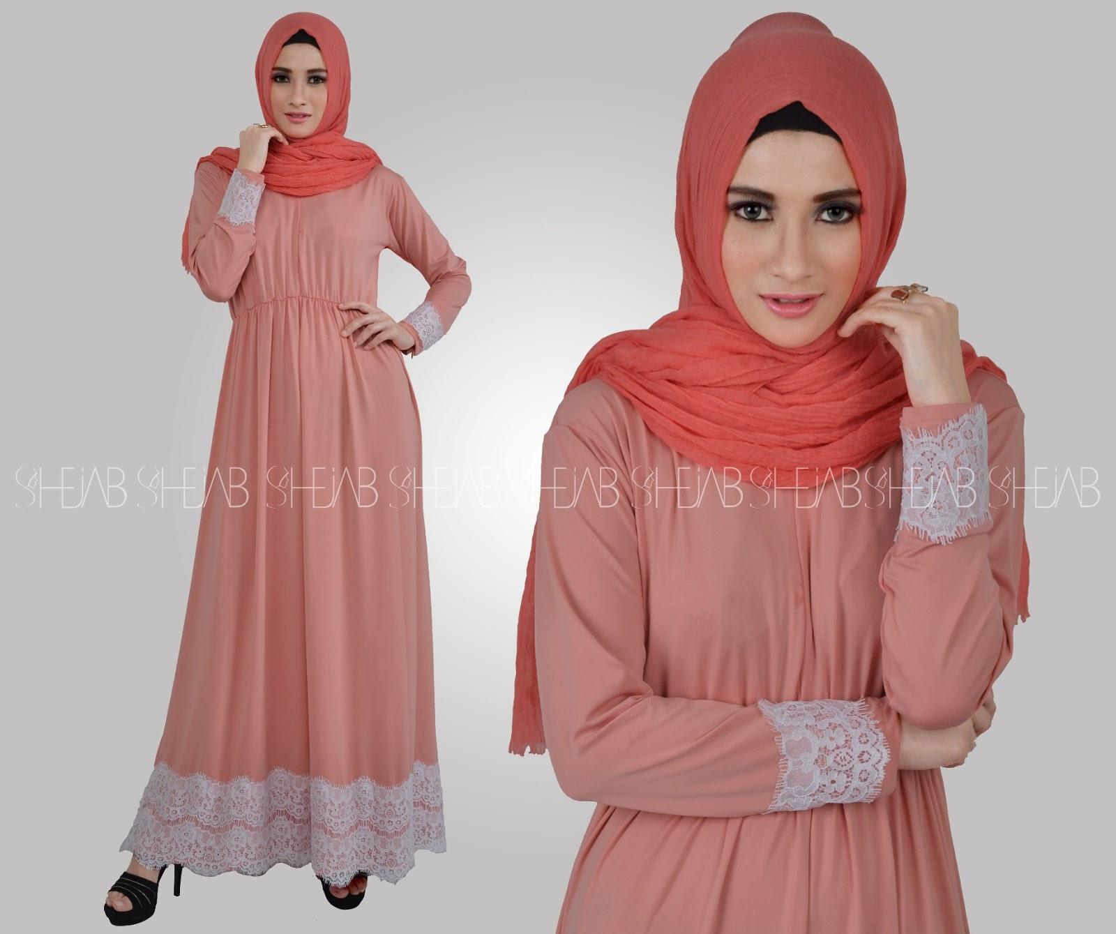 Koleksi Busana Muslimah Baju Couple Muslim Kalila Dress