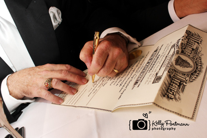 Marriage License, Signing Marriage License, Frisco Wedding, Lovenotes