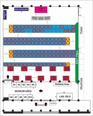 STAND PAMERAN BATU MULIA IGLO EXPO 2015