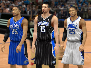 Orlando Magic Jersey Mods for NBA 2K13 PC