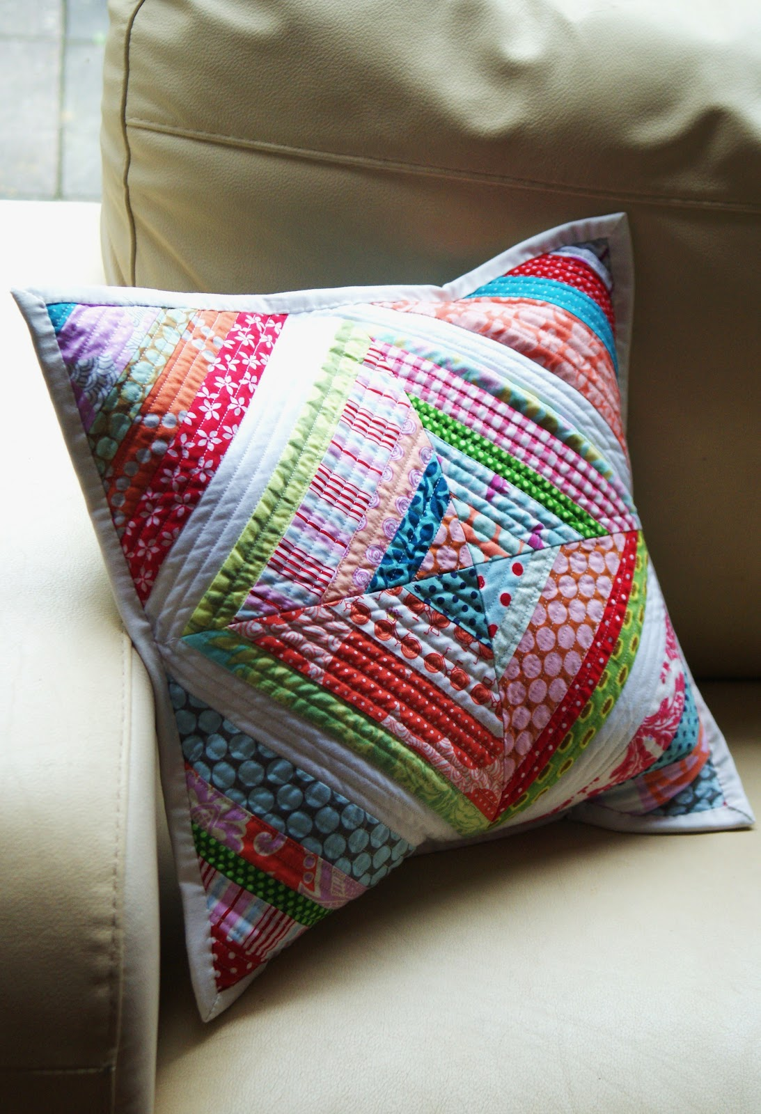 The Dining Room Drawers: String Quilt Cushion