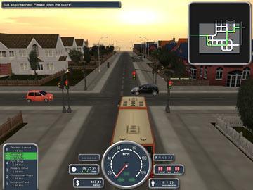 لعبة سائق المدينة Big city Rigs Bus Driver