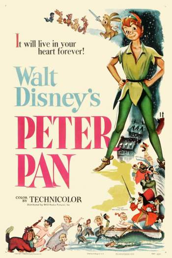 Peter Pan 1953 Torrent - BluRay 720p Dublado