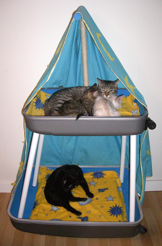 Fanfantasy cat s dreams camas artesanales para gatos - Camas para gatos ...