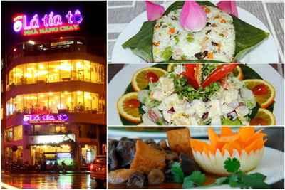 Thân nhẹ tâm an cùng nhà hàng chay Lá Tía Tô, ẩm thực chay, địa điểm ăn uống 365