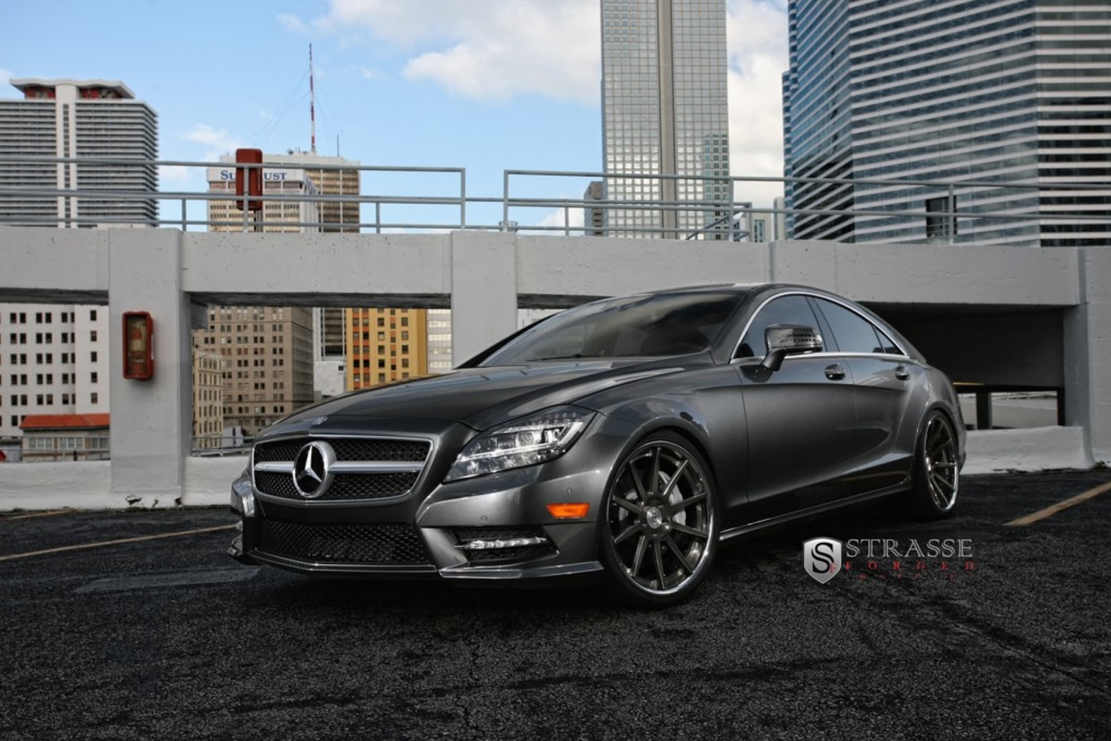 All cars nz 2013 mercedes benz cls550 by strasse forged for 2013 mercedes benz cls