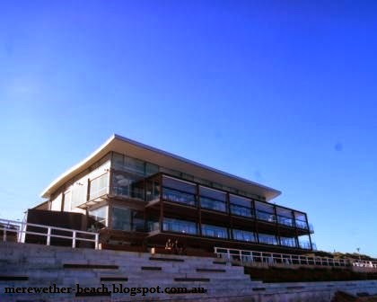 surf house merewether looking up from the sand nsw