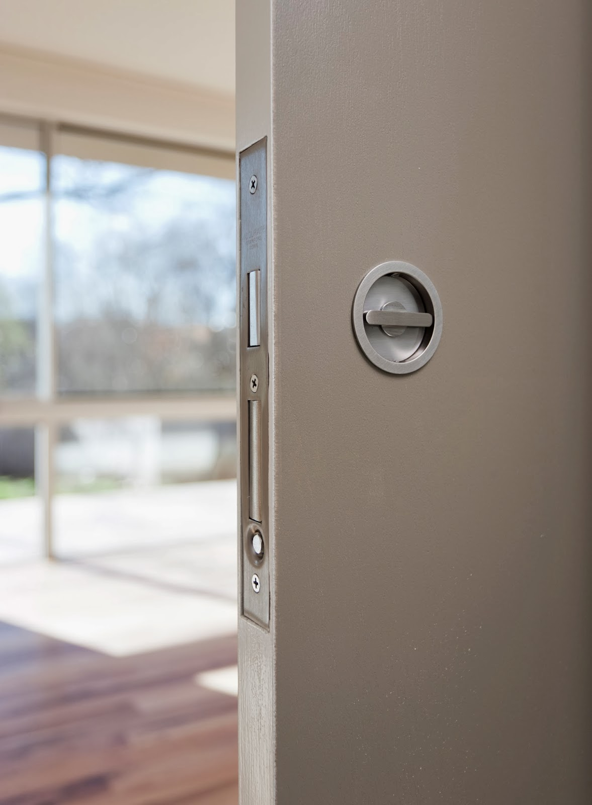 Pocket door bathroom lock - These Pocket Door Locks Are So Crisp They Are Worth The Premium You Get What You Pay For When It Comes To Hardware And These Are Money