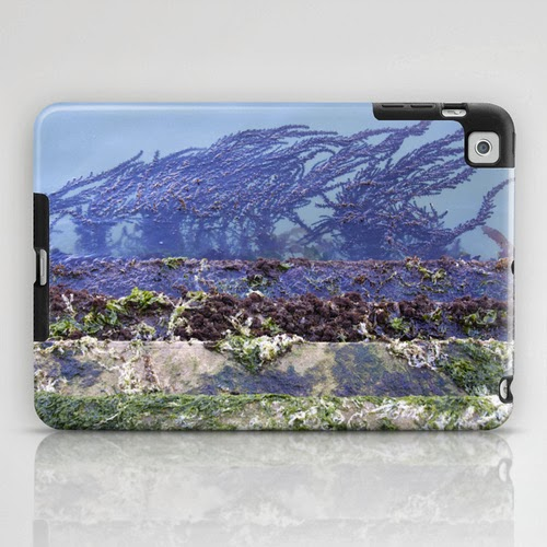 iPad case: Venetian sea tangle