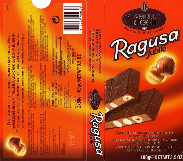 tablette de chocolat lait gourmand camille bloch ragusa jubilé