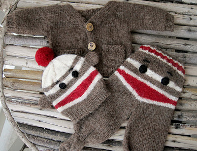 Crochet in Color: Just Another Sock Monkey Hat Pattern