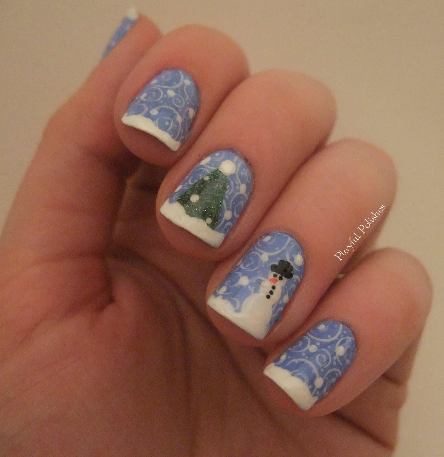 Winter Fingernail Designs: Nail Designs That Take You To A Winter Wonderland