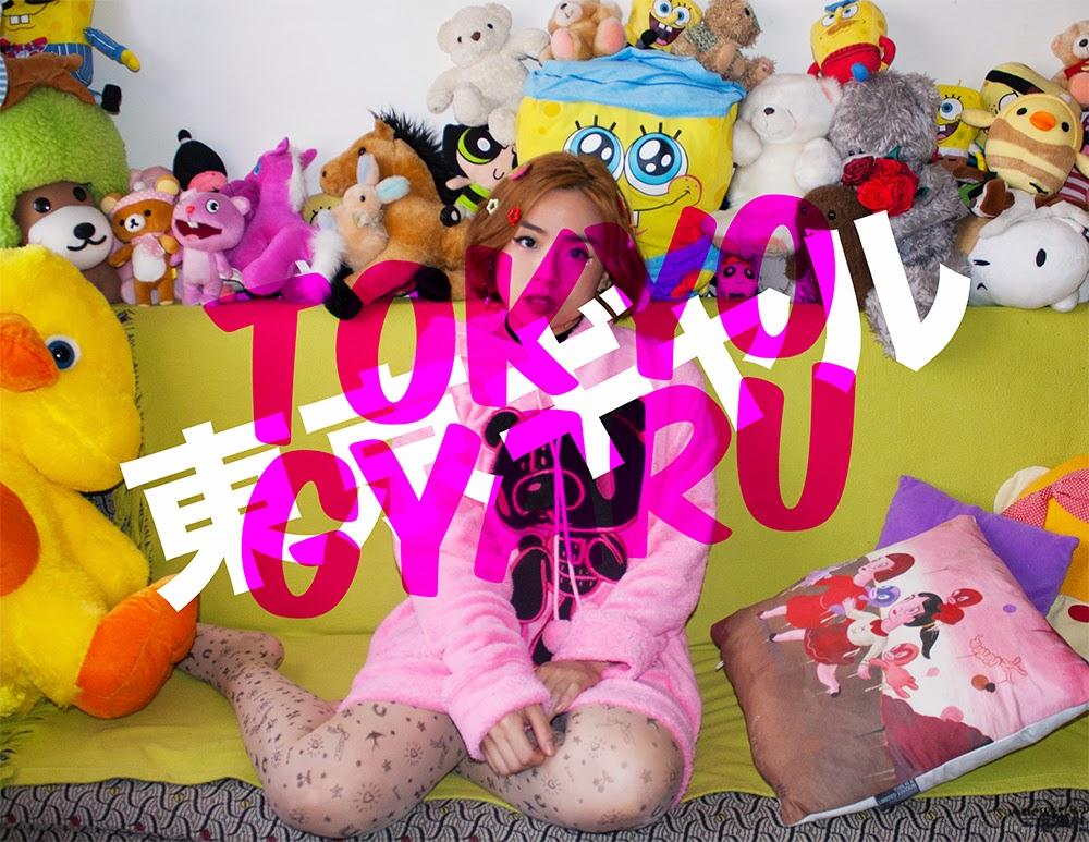 Tokyo Gyaru fashion shoot banner