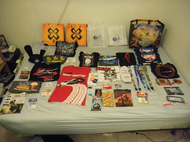 E3 2012 Swag