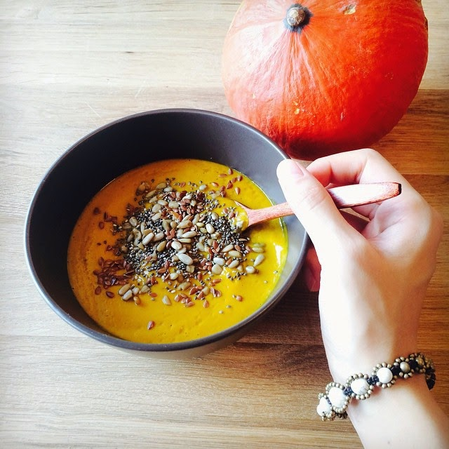 Homemade Halloween Pumpkin Soup Recipe