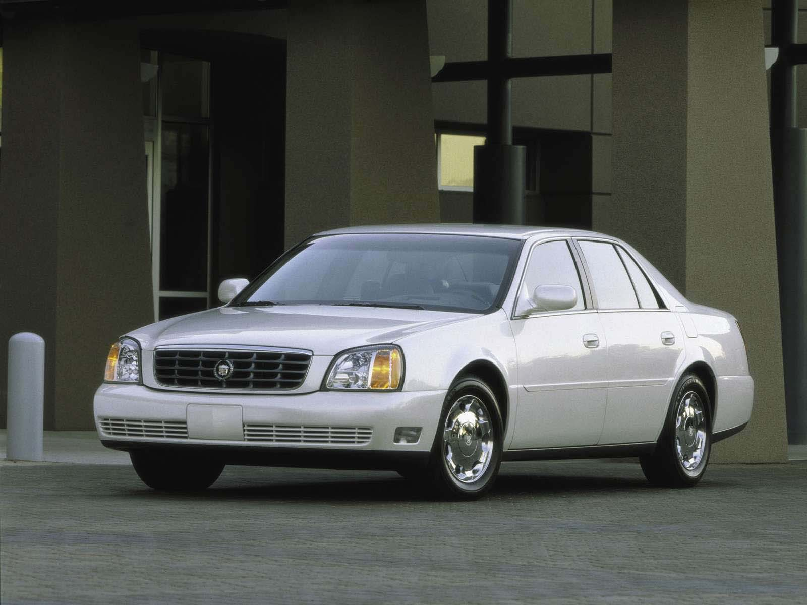 Sport Cars Cadillac Deville Dts 2001