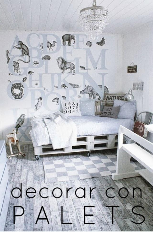 Blog de moda y lifestyle decoraci n con palets for Decoracion con palets