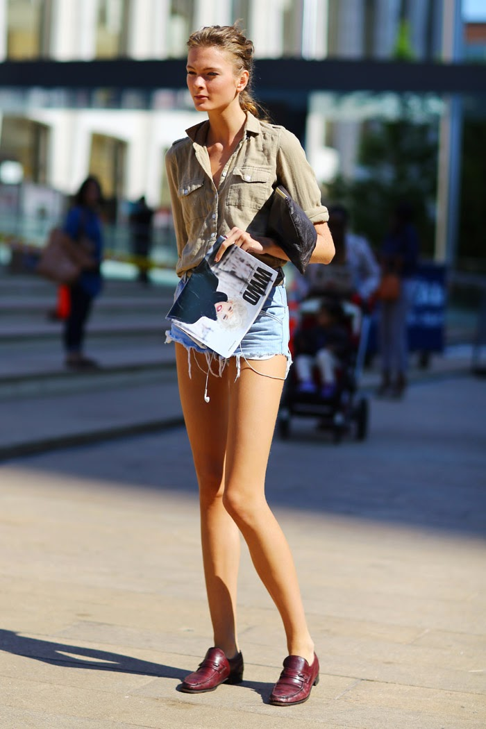 cut off shorts come abbinare gli shorts in jeans come abbinare i cut off shorts shorts e tacchi outfit shorts cut off colorblock by felym fashion blog di mariafelicia magno fashion blog italiani tendenze estate 2014 moda glamour fashion mariafelicia magno blogger di colorblock by felym
