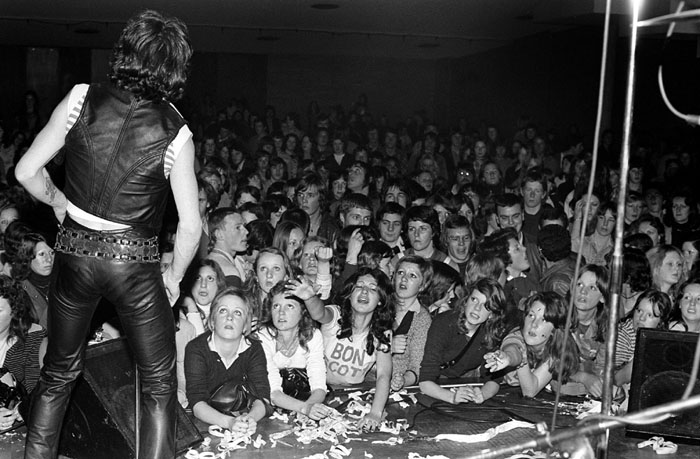 Bon Scott, Moorabbin Town Hall, Melbourne c.1974