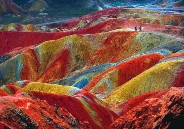 Maravillas de la geología, Parque geológico de Zhangye Danxia, China