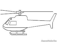 Mewarnai Helycopter Tempur Apache Dimedan Perang