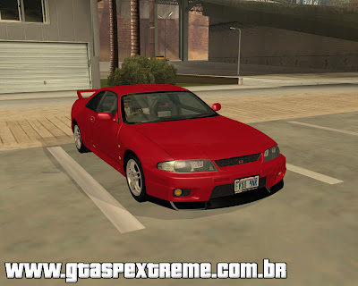 Nissan Skyline GT-R V-Spec R33 1995 para grand theft auto