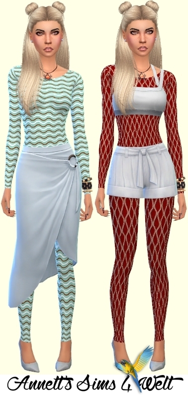 Annett`s Sims 4 Welt: Accessory Catsuits Favorite • Sims
