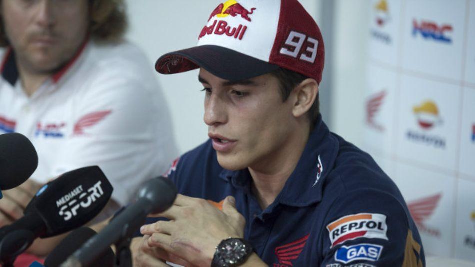 Pembalap asal Spanyol Marc Marquez menyatakan ia akan fokus pada balap di Valencia, Spanyol menyusul insiden dengan Valentino Rossi di balap MotoGP Sepang, Malaysia.