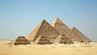 Giza Pyramid In Egypt