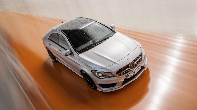 Mercedes Benz CLA Class Silver