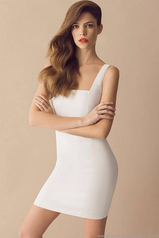 Moda vestidos primavera verano 2015 Awada.